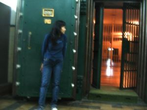 Museum Bank Mandiri bawah tanah