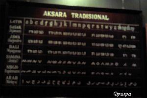 Museum NTB-Aksara