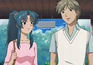 Chidori dan kakak kelasnya