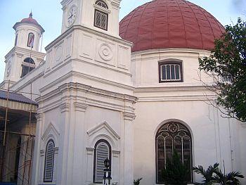Gereja Blenduk di Kota Tua Semarang