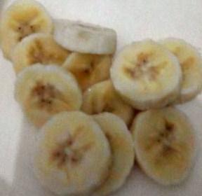 potongan pisang