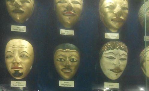 topeng di museum