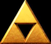 Triforce (sumber: zeldawiki.org)