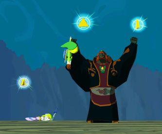 Ganon Mencuri Triforce (sumber: zeldawiki.org)