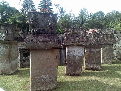 Pemakaman Kuno di Waruga