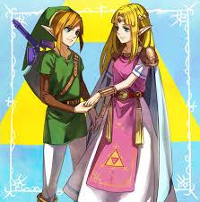 Link dan Zelda (sumber: devianart.com)