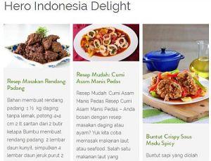 Hemmm Lezatnya Masakan Indonesia