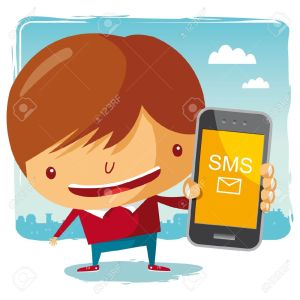 10443977-boy-and-his-mobile-phone-Stock-Vector-sms-phone-cartoon