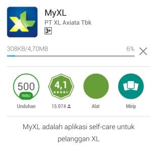Unduh MyXL Apps Gratis