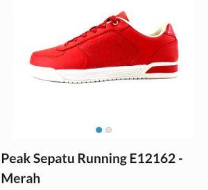 peak sepatu running