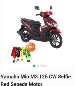 yamaha selfi red