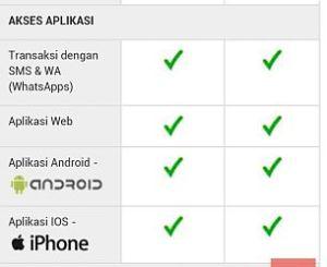 Bisa dengan SMS atau Whats Apps untuk Membayar Tagihan