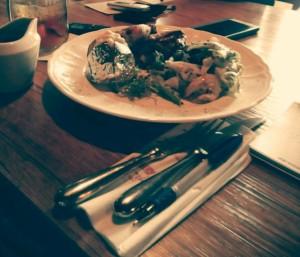 Makanan utama di Tartine