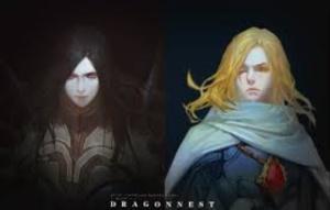 Veskuld dan rivalnya dalam Dragon Nest