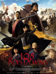 Poster film prince and 108 demons ala prancis