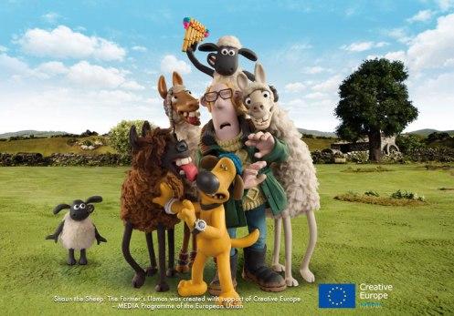 Shaun The Sheep Farmer's Llamas