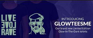 Promo Kaos Glow in The Dark