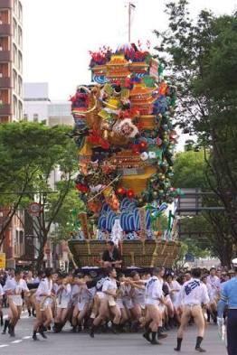 Hakata Gion Yamakasa Festival (sumber: wikipedia)