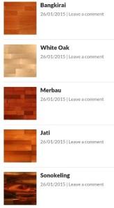 Corak Lantai Solid (Gambar dari website Sufa Parquet)