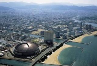 Kubah Fukuoka (sumber:archive.metropolis.co.jp)