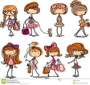 fashion-girl-cartoon-vector-21863930