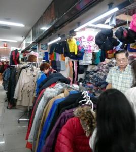 Koleksi Fashion di Farina Pasar Pagi