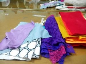 Tiap jenis kain punya karakteristik tersendiri