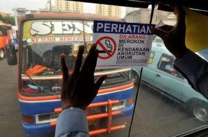 Larangan merokok dalam angkutan umum