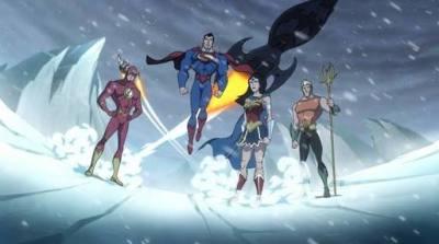 Beberapa anggota Justice League