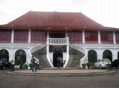 Museum Sultan Baddaruddin II (dokpri)