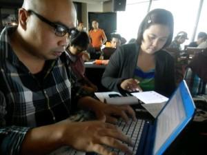 Sibuk berflash blogging