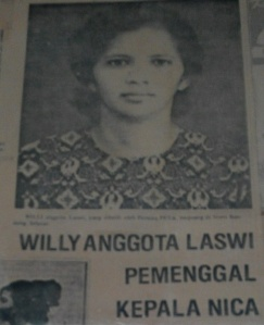 Willy anggota laswi