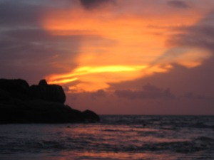 Matahari Terbit di Parai Tengiri