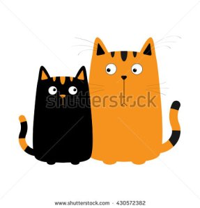 stock-photo-cute-cartoon-cat-boy-and-kitty-girl-cat-couple-on-date-big-mustache-whisker-funny-character-set-430572382