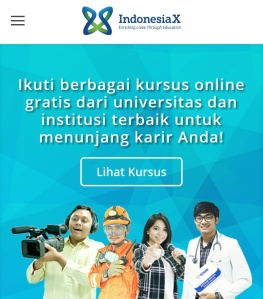 Kursus online buatan dalam negeri bertumbuhan, salah satunya Indonesia X