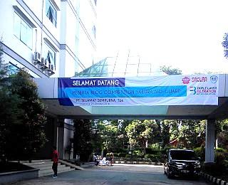 Selamat datang di kantor pusat PT Selamat Sempurna, TBk
