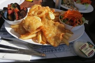 Fish & Chips yang Sedap (gambar: detik travel)