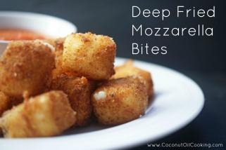 Gurihnya Deep Fried Mozzarella (gambar: CoconutOilCooking.com)