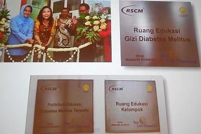 Di RSCM juga ada poliklinik edukasi diabetes melitus