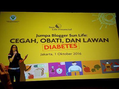Sun Life Financial Indonesia memberikan dukungan penuh terhadap aksi cegah, obati, dan lawan diabetes