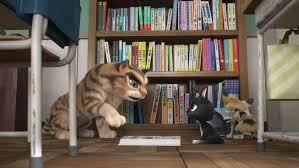 Kucing belajar membaca