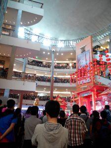 Perayaan Imlek di Mal di Jakarta
