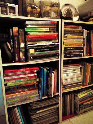 ruang baca membuat rumah nyaman dan penghuninya berwawasan