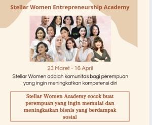 Women stellar entrepreneurship academy