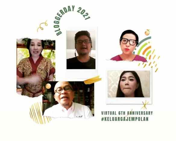 Pengisi acara Blogger Day 2021