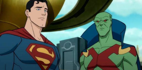 Superman dan martian manhunter