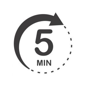 waktu 5 menit